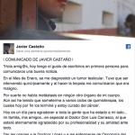 Comunicado Javier Castaño. Beatriz Montejo